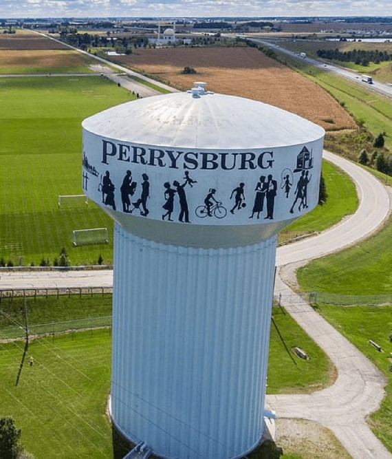 Perrysburg watertower
